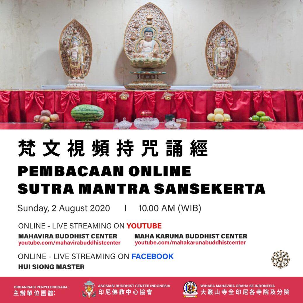 Pembacaan Online Sutra Mantra Sansekerta